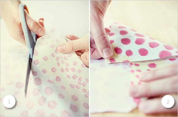 DIY: Envelope de Tecido