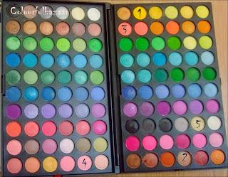 Trusa machiaj 120 culori- Fraulein 38
