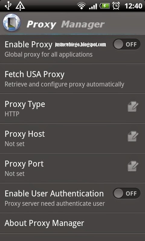 proxy Manager Android Injek Android Telkomsel Optimus Droid update terbaru 2014
