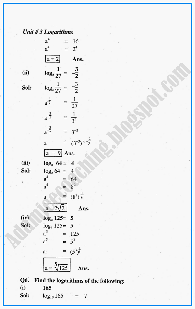 logarithms-question-answers-mathematics-notes-for-class-10th