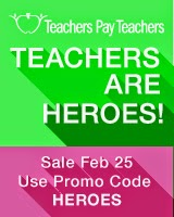 TpT Teachers are Heroes Sale