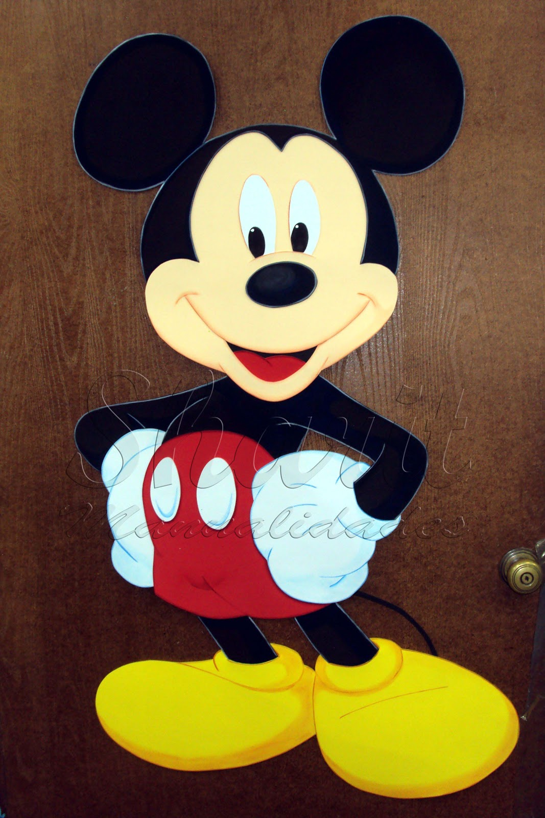 Volvimos hacer otro Mickey Mouse. Costo del Muñeco S/. 50.00 de 120