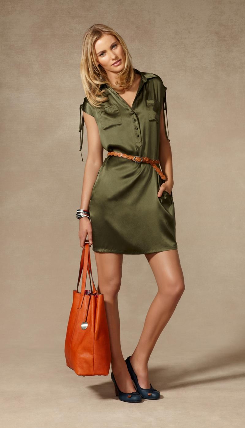 ye25C5259Fil ipek elbise - Yazl�k Elbise Modelleri [Tommy Hilfiger 2012]