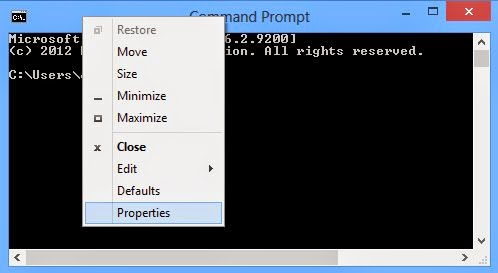 How To Enable Copy/ Paste In Command Prompt.