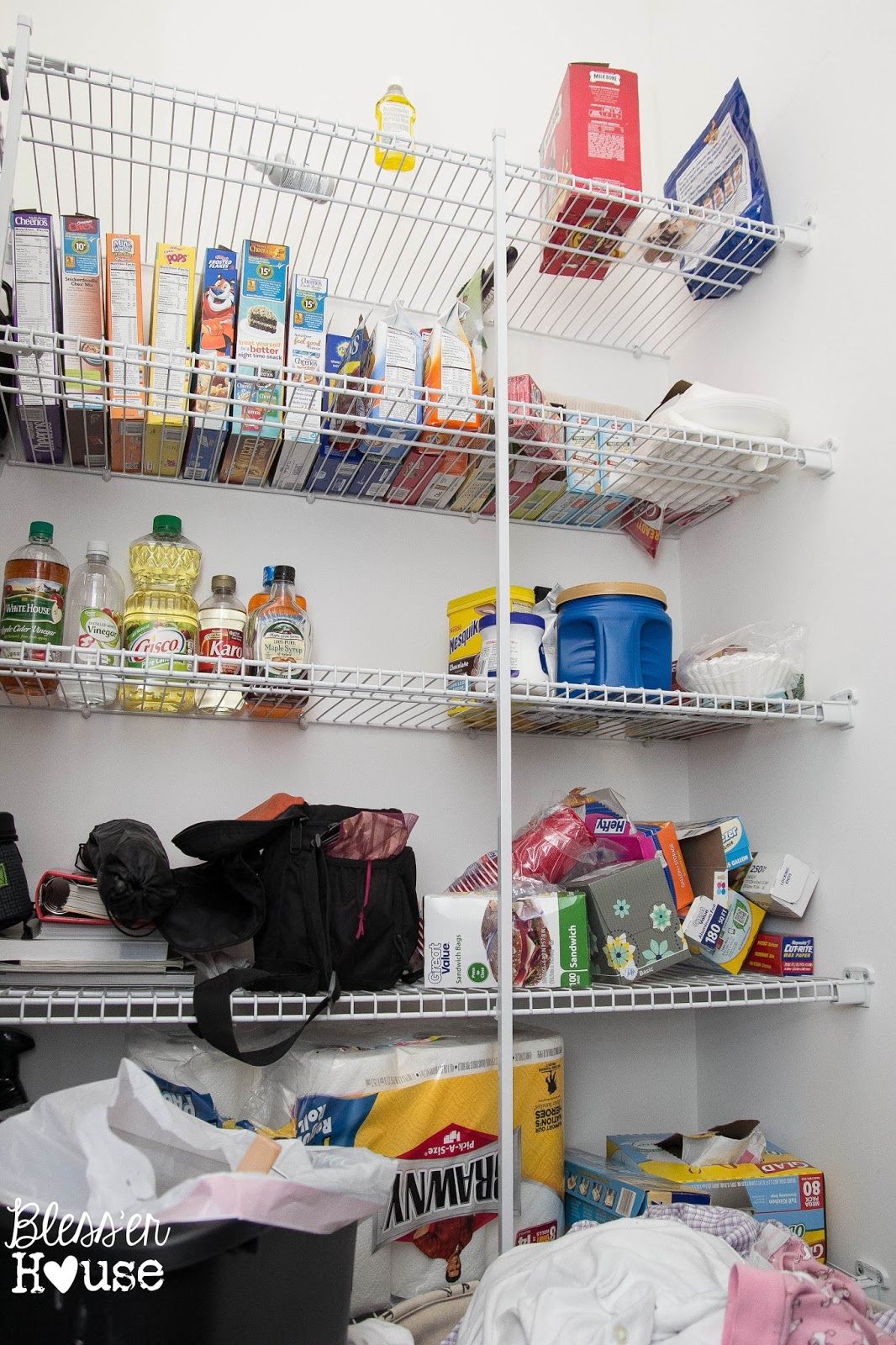 The Most Frugal Way to Organize a Pantry (+ Free Printable) - Bless ...