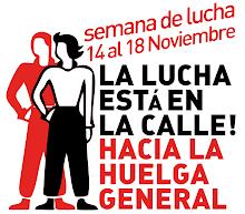 SEMANA DE LUCHA  14 - 18N hacia la huelga general