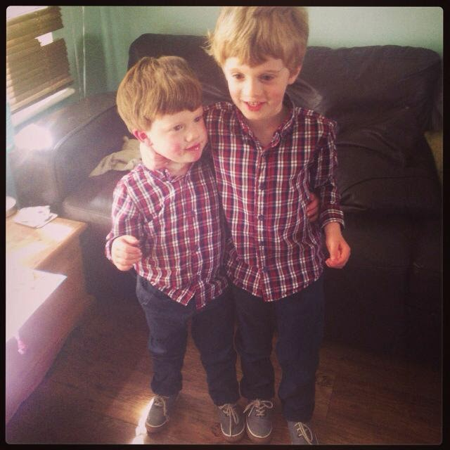 My lovely grandsons