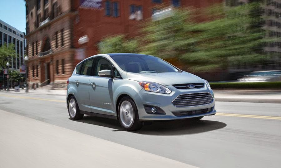 2014 Ford C-MAX Hybrid Named Top Safety Pick by IIHS