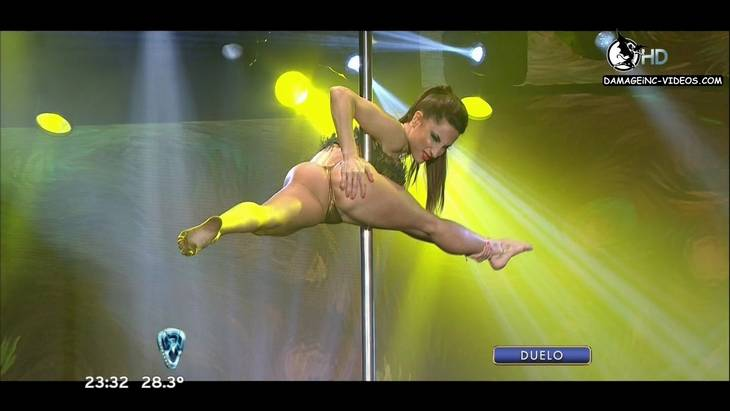 Argentina dancer Magui Bravi ass hole oops
