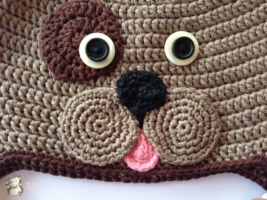 Dorable Patrón De Crochet Libre Para El Sombrero Del Búho Bandera ...