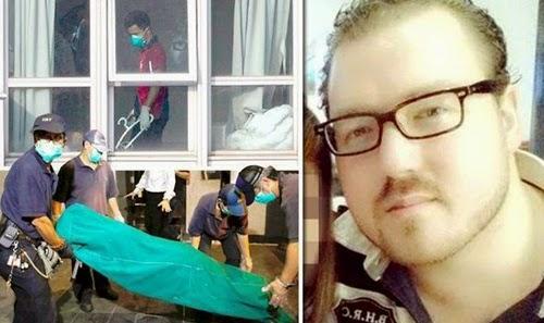 Hình ảnh nghi can Rurik Jutting và hiện trường hai phụ nữ bị sát hại ở Hong Kong (Ảnh Reuters).