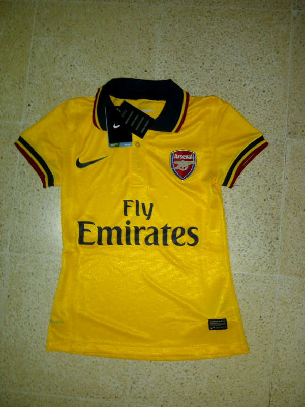 Jual Jersey Arsenal Ladies 2014 Away