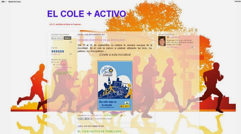 """ENLACE AL BLOG """"EL COLE +ACTIVO"""""""