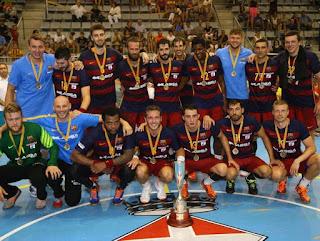BALONMANO - El Barcelona Lassa se alzó con el título en la Supercopa de Cataluña