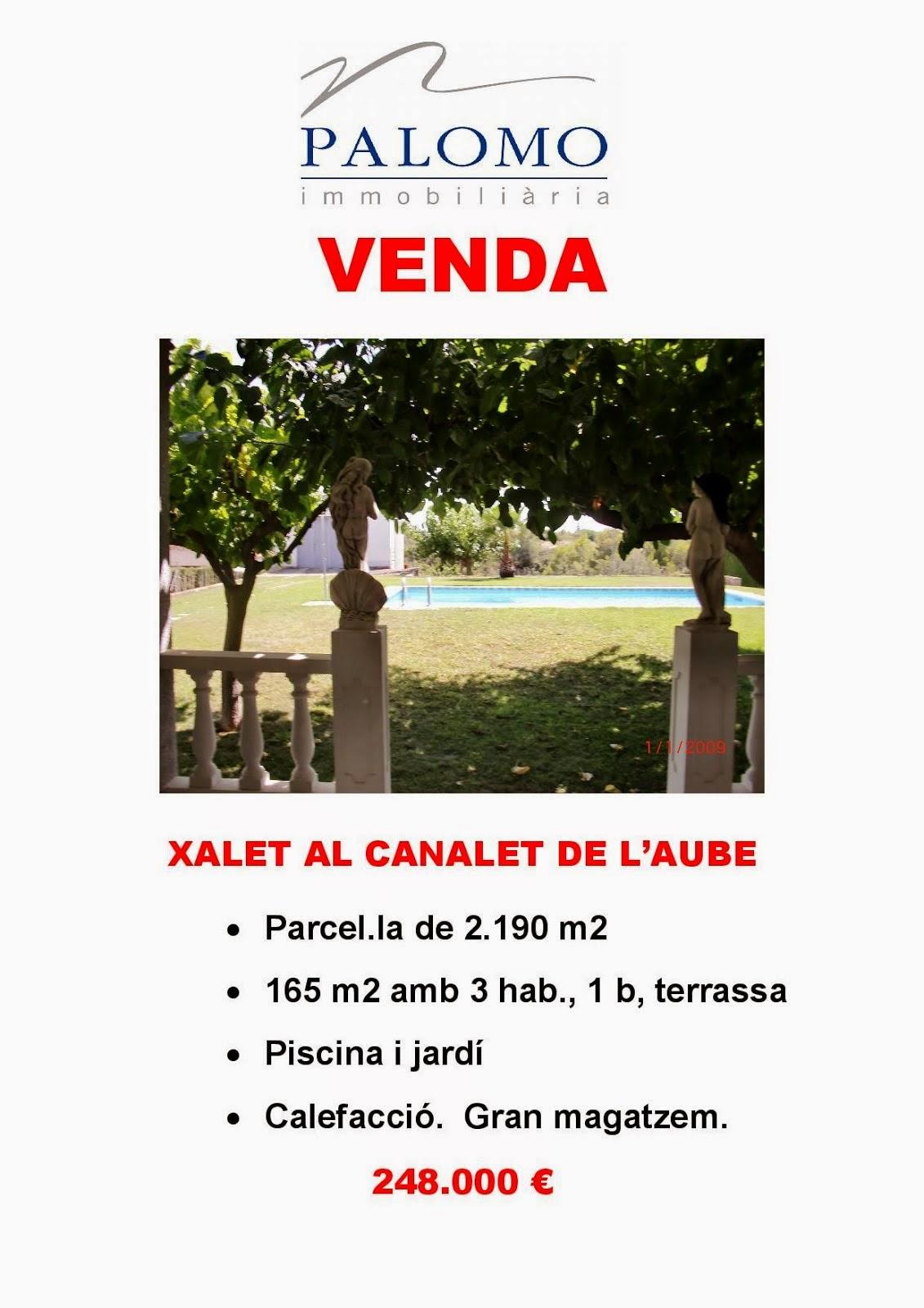XALET AL CANALET DE L'AUBE