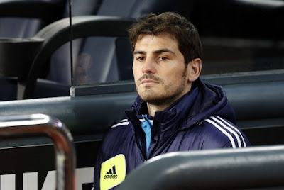 Against Real Zaragoza, Madrid Still Without Casillas