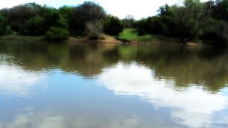Rio Camaquã, em Minas do Camaquã, Caçapava do Sul (RS)