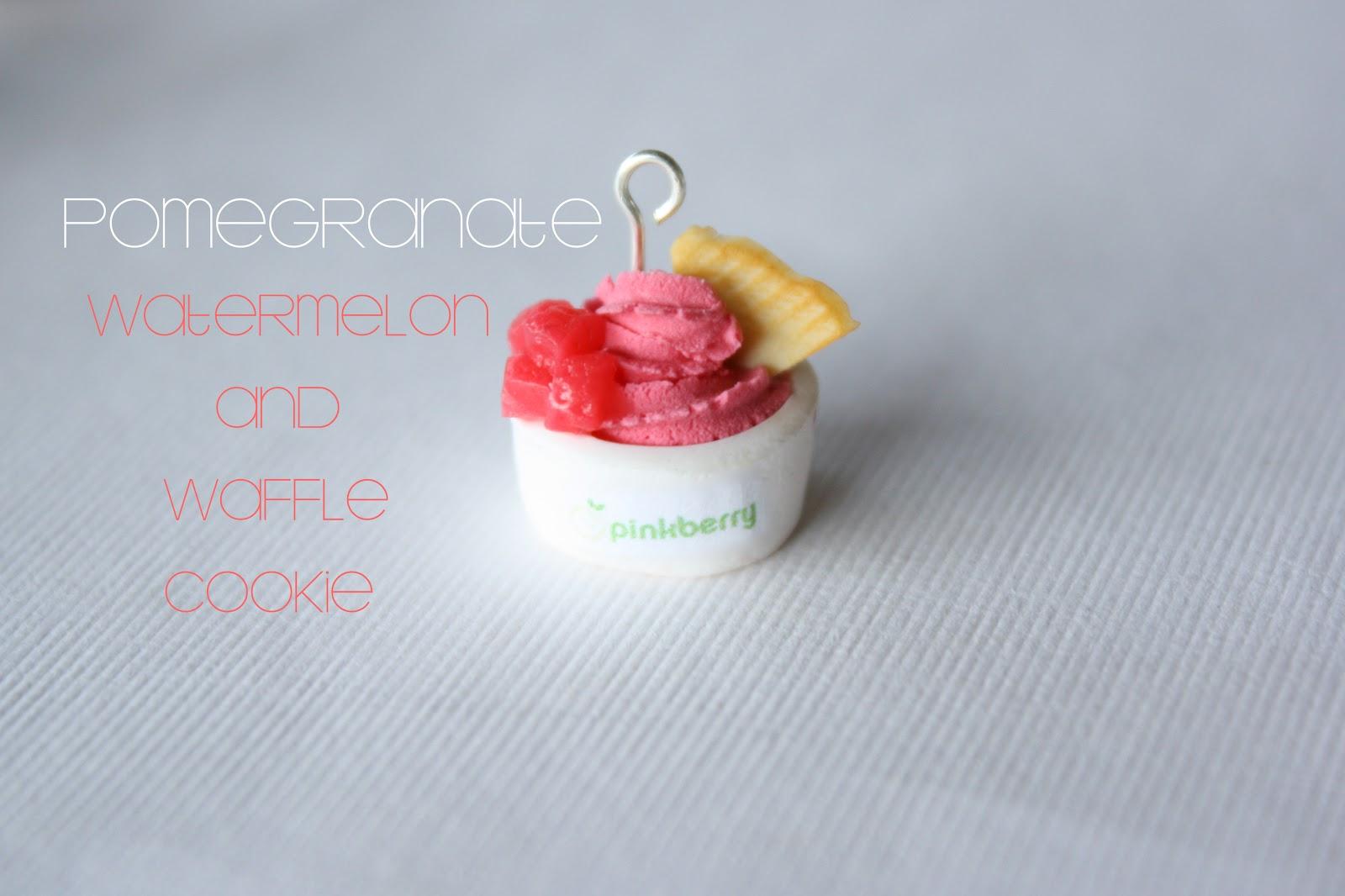 Watermelon Frozen Yogurt Recipe — Dishmaps