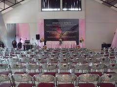 Aula Antiokhia kapasitas 250 orang