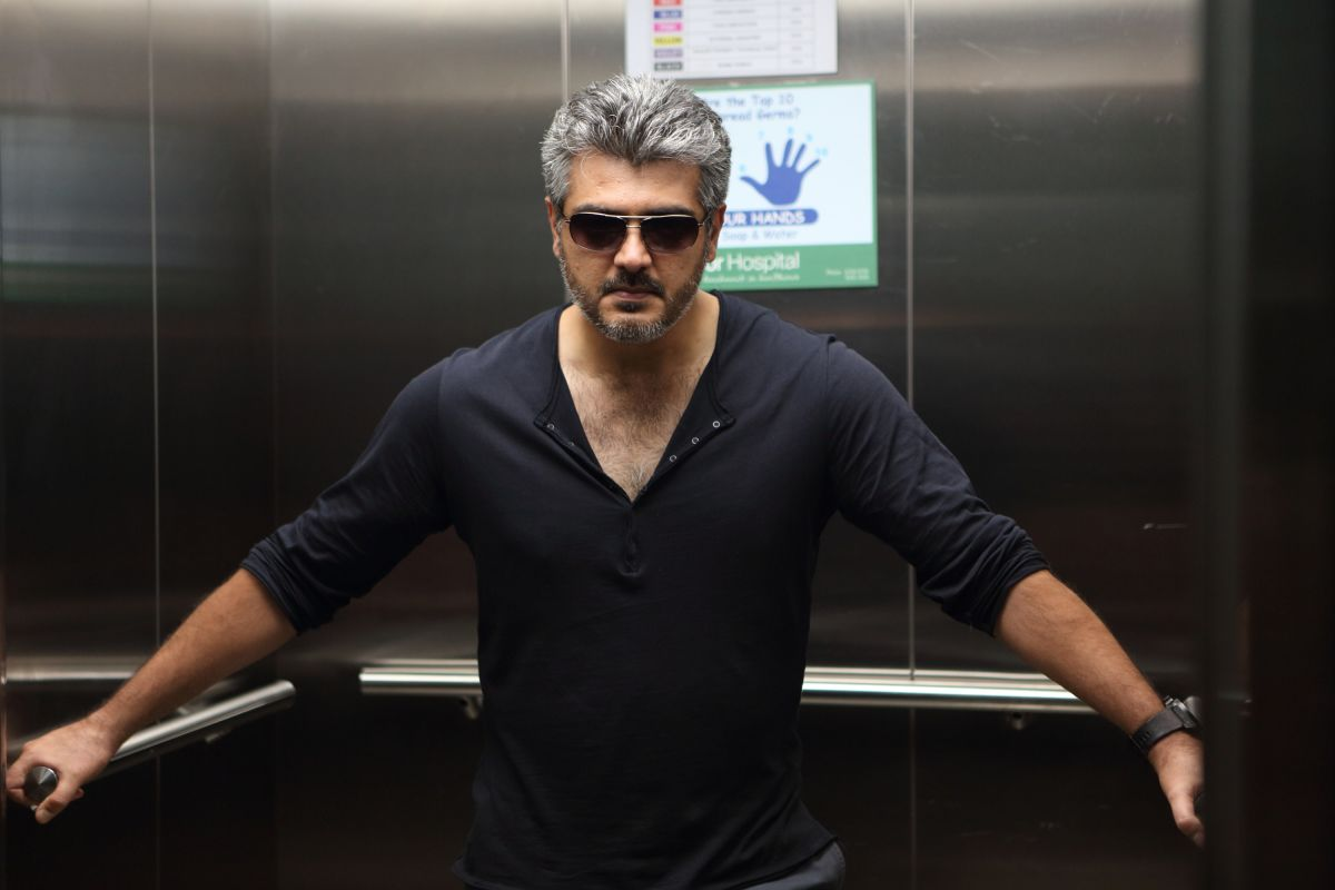Aarambam Movie Stills (Ajith,Nayanatara) Ajith In Aarambam Poster