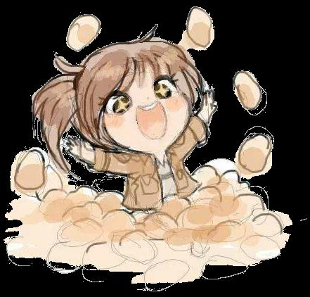Render Sasha Braus (Potato Girl) Chibi