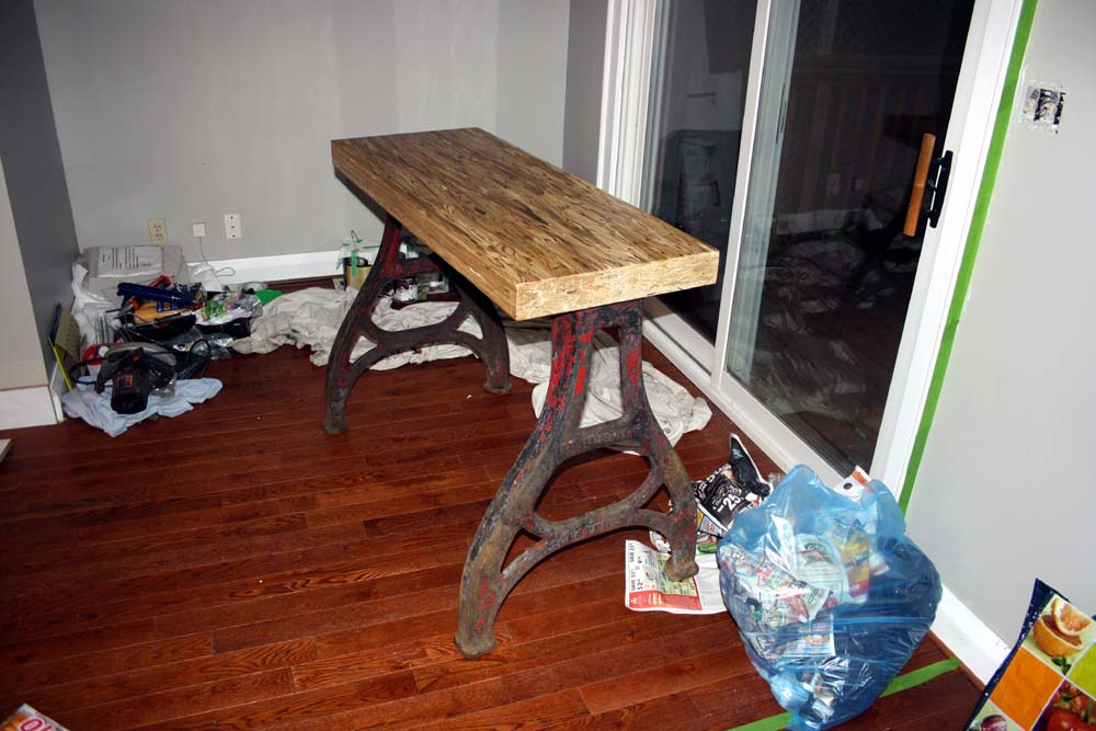 gravenicons reclaimed dining room table and side table