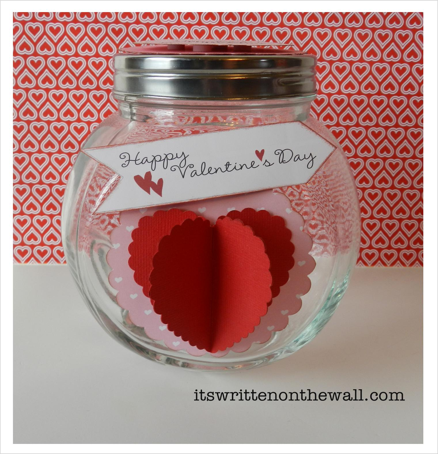 we filled a glass jar with valentines day conversation hearts to give to teacher its such a easy gift to put together fill it with teachers favorite - Valentines Day Ideas For Teachers