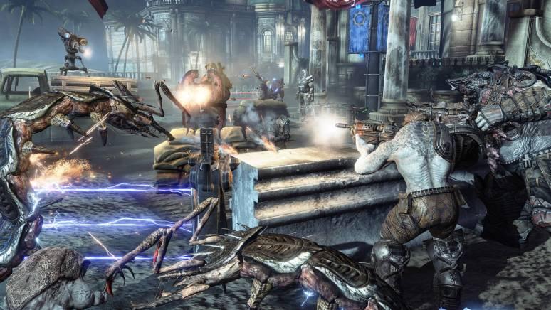 how to fix lag horde gears of war 4