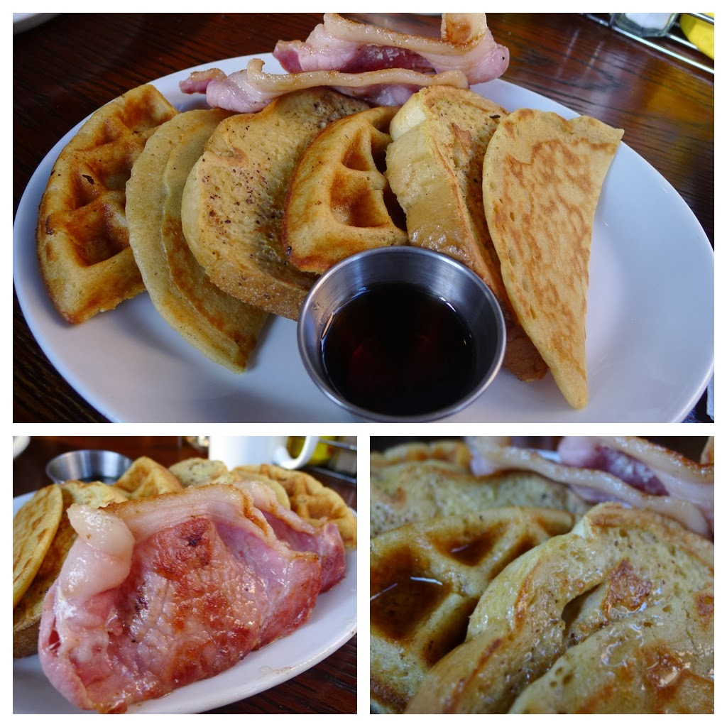 If you like maple syrup but can't decide whether to have waffles, pancakes or French toast?