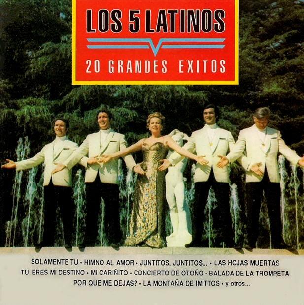 grandes exitos latinos: