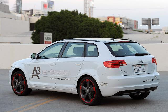 новый Audi A3 E-Tron