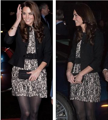 Kate Zara Dress Sold 24 Hours kate middleton zara black dress