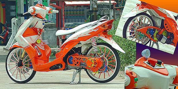 Modif Yamaha Mio Soul