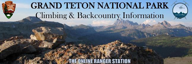 Grand Teton National Park Climbing & Backcountry Information