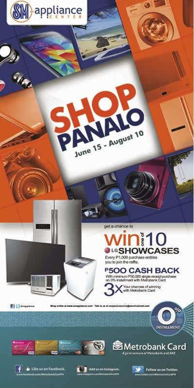 SM Appliance Center, Metrobank Card Promo, bank promos