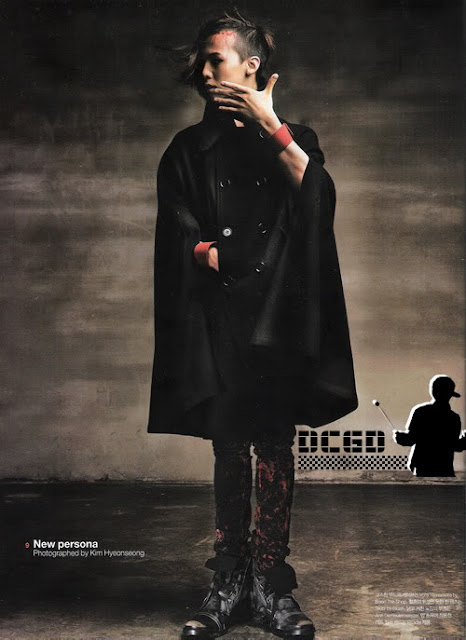 G-Dragon for Numero magazine October 2008