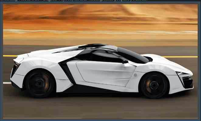 Top 10 most expensive cars in the world 2014 image picture