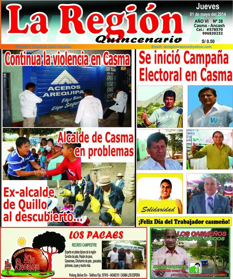 Periódico La Región N° 38