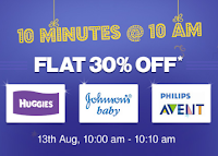 Firstcry :Flat 30% OFF on Huggies & Johnson's Baby