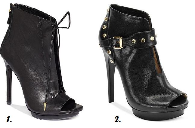 Peep Toe Vera Wang Shoe