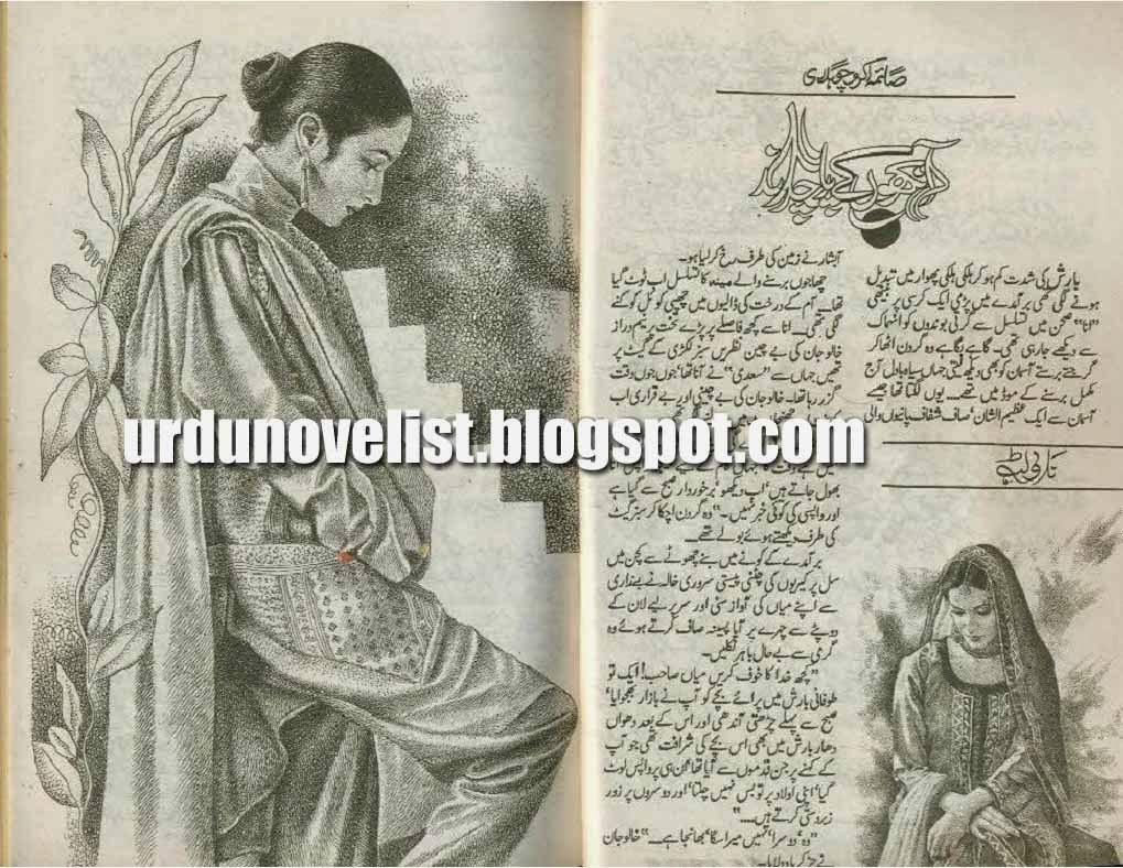 Aankhon Ke Par Chand By Saima Akram Chaudhary