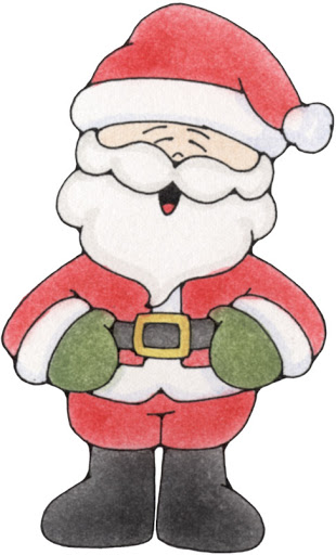 Imagenes infantiles de navidad papa noel