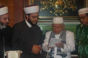 Belajar Islam Moderat Ala NU, Mufti Lebanon Kunjungi PBNU