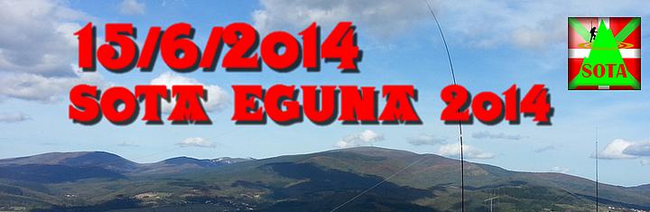 EA2 SOTA EGUNA 2014
