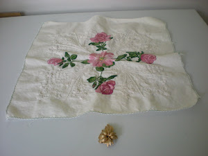 Roses Embroidery Piece