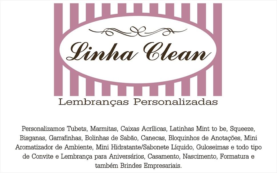 Linha Clean Lembranças Personalizadas
