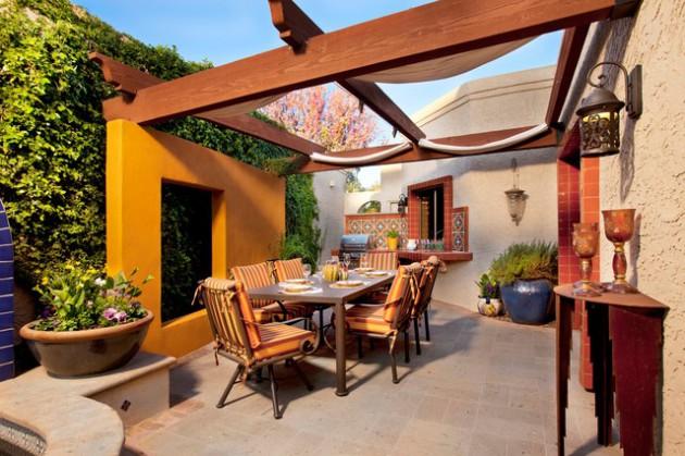 Desain Teras Rumah Diatas Adalah Lebih Berfungsi Sebagai Ruang Makan Dan Santai Keluarga Yang Berada Di Luar Rumah Outdoor Mungkin Satu Hal Yang Perlu