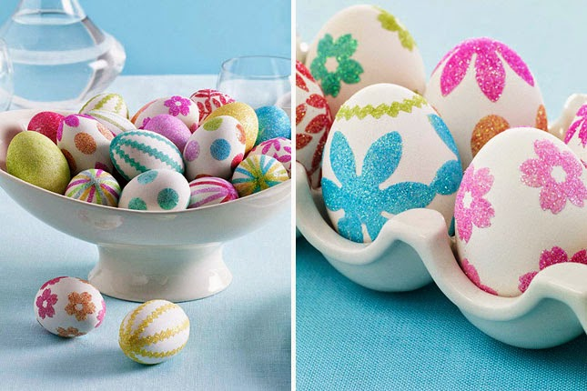 Diy come decorare le uova di pasqua 7 idee fai da te 7 easter egg decorating ideas - Uova di polistirolo da decorare ...