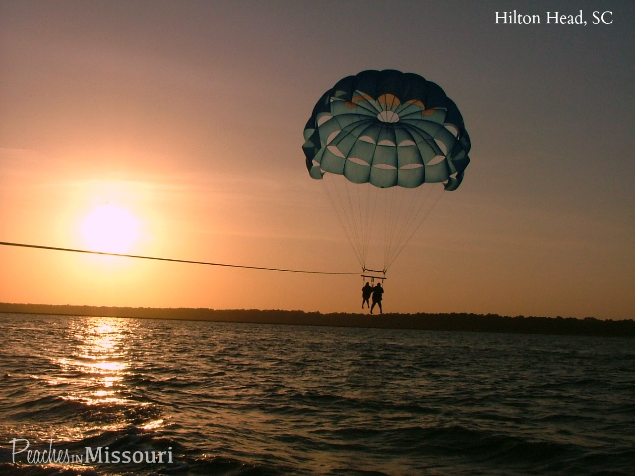 Parasailing in Hilton Head, South Carolina