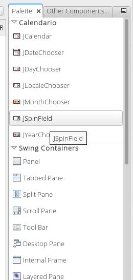 Agregar un JCalendar a la paleta de componentes de netbeans